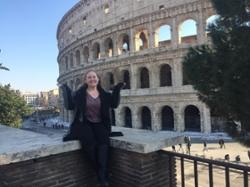 Emma Finn in Italy